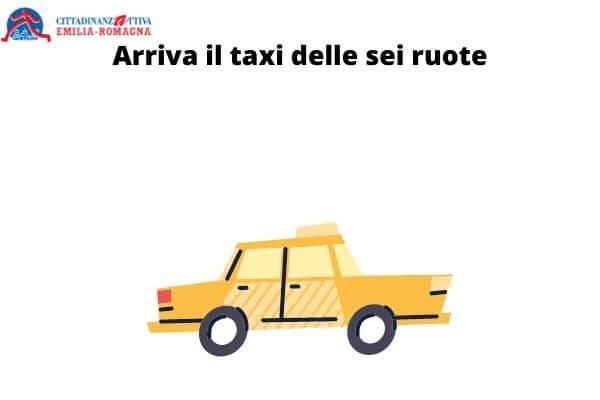 Arriva il taxi delle sei ruote