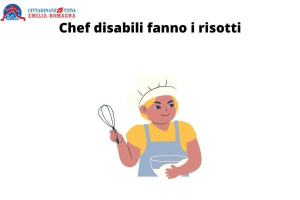 Chef disabili fanno i risotti