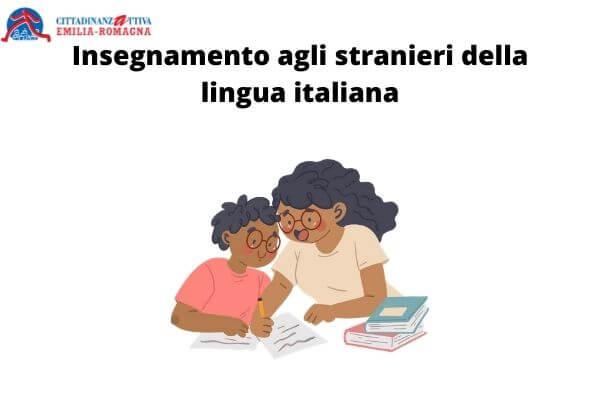 Insegnamento agli stranieri della lingua italiana