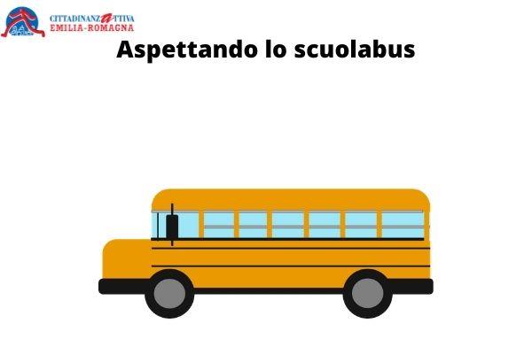 Aspettando lo scuolabus