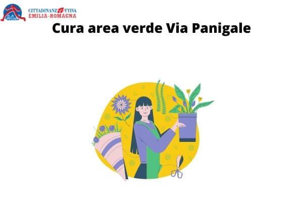 Cura area verde Via Panigale