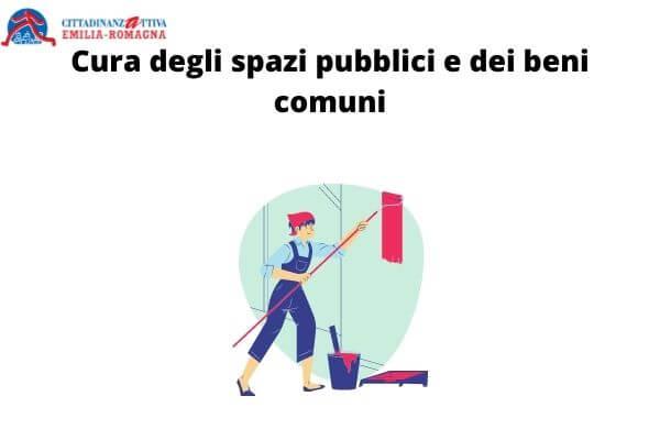 Cura degli spazi pubblici e dei beni comuni