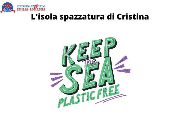 isola spazzatura di Cristina
