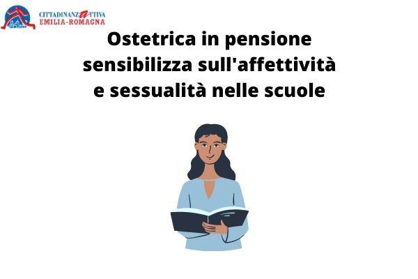 Ostetrica in pensione sensibilizza sull'affettività e sessualità nelle scuole