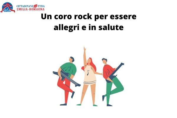 Un coro rock per essere allegri e in salute