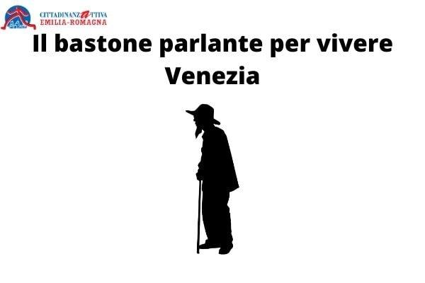 Il bastone parlante per vivere Venezia