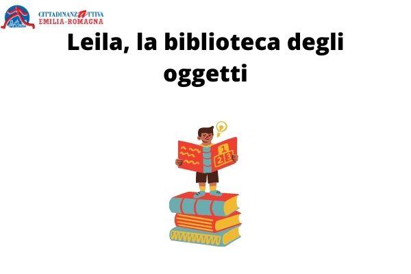Leila, la biblioteca degli oggetti