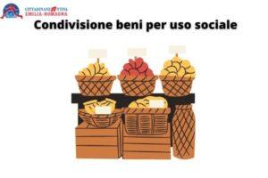Condivisione beni per uso sociale