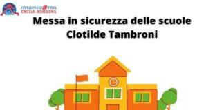 Messa in sicurezza delle scuole Clotilde Tambroni