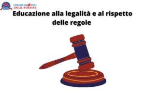 Educazione alla legalità e al rispetto delle regole